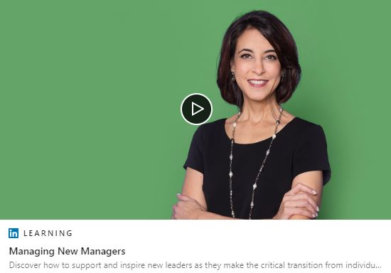 FREE Online Course: Managing New Managers