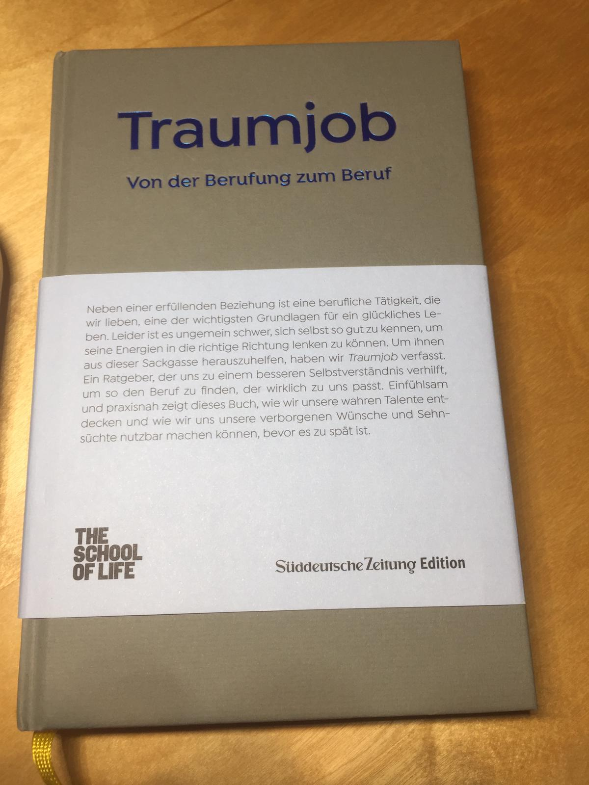"""Buchrezension: Alain de Botton, """"Traumjob – Von der Berufung zum Beruf"""""""