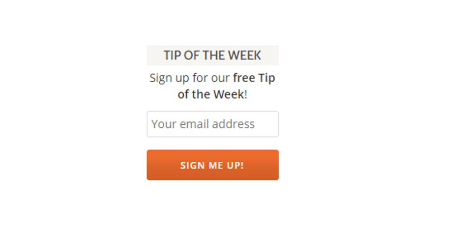 "Save Time and Increase your Productivity FAST, and for FREE. Read Back Issues of My ""Tip of the Week"""