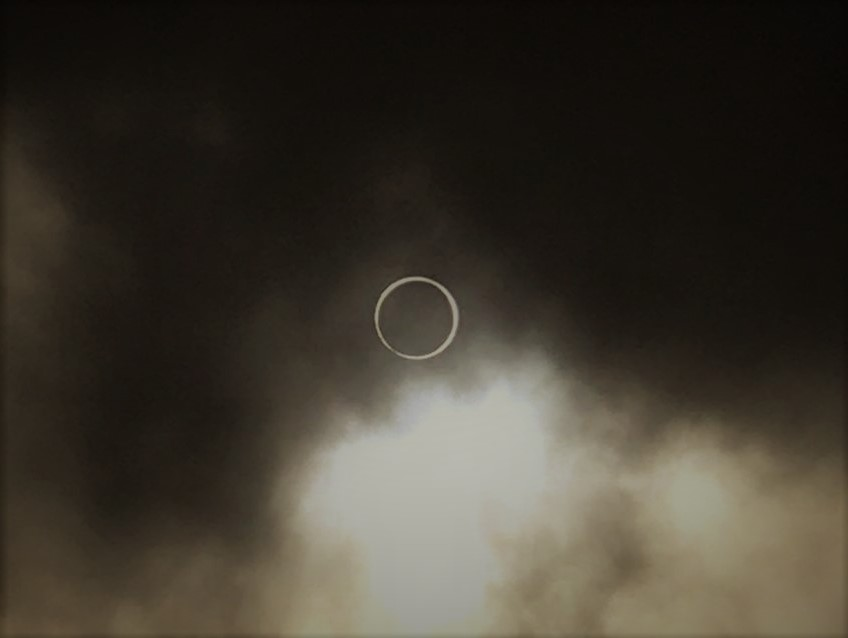 Must see. An Annular Eclipse in Singapore.
