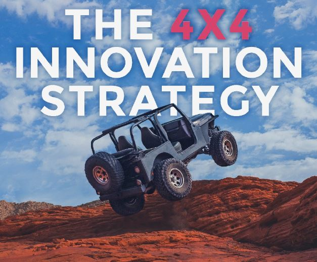 My Latest Book Is Out: The 4×4 Innovation Strategy