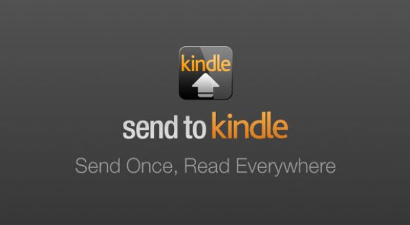 """Neat and Fast: Send E-Books to Your Kindle Account via """"Send to Kindle"""" App"""