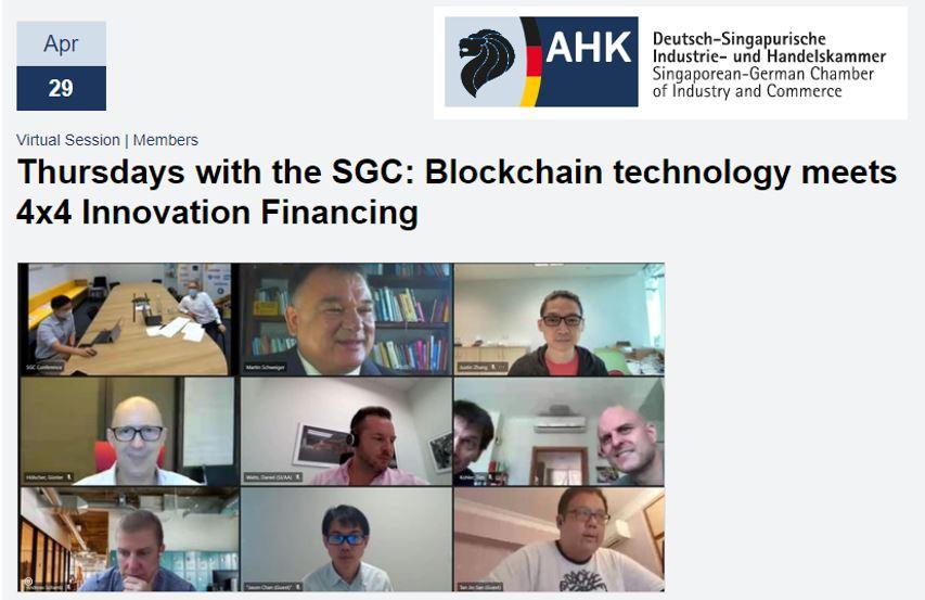 Public Talk: Blockchain Technology Meets 4×4 Innovation Financing