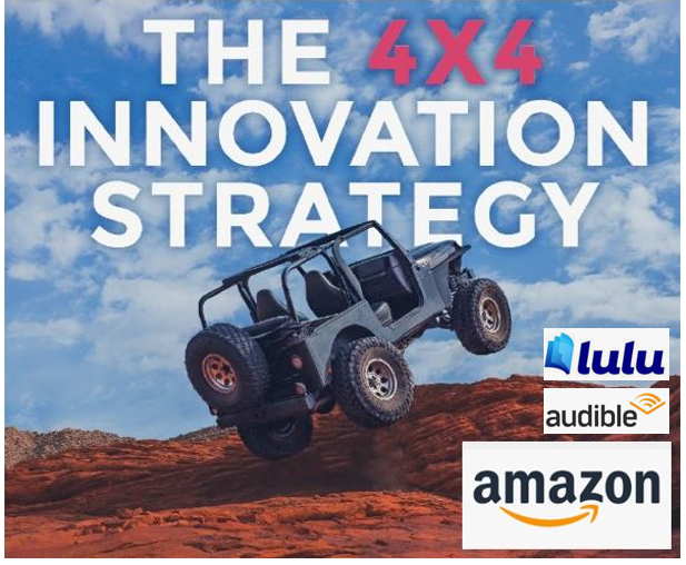 """Patent Firm Marketing: How I Use My """"4×4 Innovation Strategy"""" Book In My Daily Practice As A Patent Attorney"""